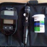 Accu Chek Aviva Blutzuckermessgerät-Test
